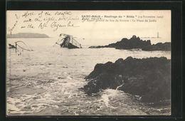 AK Saint-Malo, Naufrage Du Hilda, Havarie Der Hilda 1905 - Barche