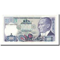 Billet, Turquie, 1000 Lira, L.1970, KM:196, TTB - Turkije