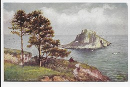 The Thatcher Rock, Torquay - Tuck Oilette 7171 - Torquay
