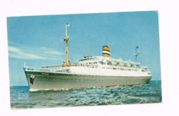 """SS """"Ryndam"""" Holland America Line. - Passagiersschepen"""