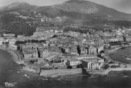 AJACCIO - Vue Panoramique Aérienne Et Les Vieux Remparts De La Citadelle - Ajaccio