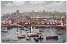 The Harbour, Torquay - Tuck Oilette 7171 - Torquay