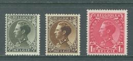 BELGIQUE - 1934 - MNH/** - LEOPOLD III - COB 401-403 - Lot 19958 - 1934-1935 Leopold III