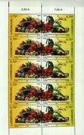 Luxembourg Feuillet De 10 Timbres à 0,70 Euro 75 Ans Fédération Horticole Luxembourgeoise 2006 - Blocks & Sheetlets & Panes