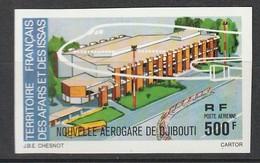 AFARS Et ISSAS - NON DENTELE - PA N°109 ** (1977) Aérogare De Djibouti - Afars Et Issas (1967-1977)