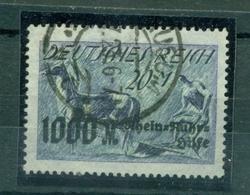 Deutsches Reich, Neuer Wert Auf Bauer Mit Pferd ,  Nr. 260 Gestempelt, Infla-geprüft - Used Stamps