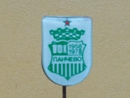 LIST 123 - FOOTBALL CLUB PANCEVO, SERBIA - Football