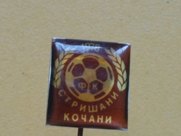 LIST 123 - FOOTBALL CLUB STRISANI, KOCANI, MACEDONIA - Football