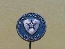 LIST 123 - FOOTBALL CLUB OMLADINAC, ODZACI, SERBIA - Football