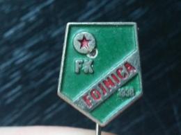 LIST 123 - FOOTBALL CLUB FOJNICA, YUGOSLAVIA - Football