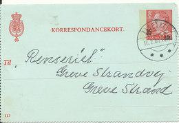 Denmark Korrespondancekort (113) Aalsgarde 10-2-1964 - Dinamarca