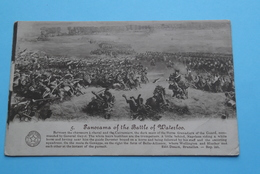 Panorama Of The Batlle Of Waterloo ( Desaix ) Anno 1924 > Willebroeck ( Zie Foto Details ) ! - Guerres - Autres
