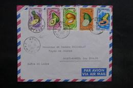 CAMEROUN - Affranchissement Plaisant De Ntui Sur Enveloppe Pour La France En 1967 - L 35595 - Camerun (1960-...)