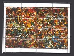 Georgia Stamp Fauna 1996 Painting - Georgia