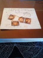 Lettre En Recom Pour La France Varsovie 1923  BEL AFFR AU DOS - Lettres & Documents