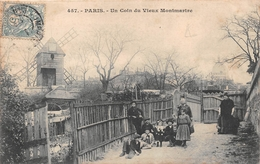 ¤¤    -    PARIS  -  Un Coin Du Vieux Montmartre      -  ¤¤ - District 18