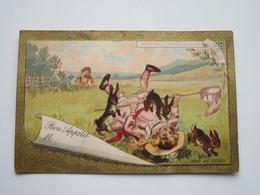Bon Appétit (chasse Aux Lapins) - Liebig