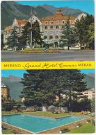 Merano - Meran: FIAT 850 COUPÉ - Grand Hotel 'Emma' - Piscina/Swimmingpool - (Italia) - Toerisme
