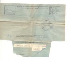 Télégramme Calais Vers Paris - 1950 (fr81) - Telegrafi E Telefoni