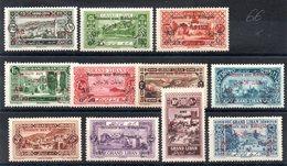 GRAND LIBAN - YT N° 63 à 74 (sauf 66)  - Neufs * - MH - Cote: 57,00 € - Great Lebanon (1924-1945)