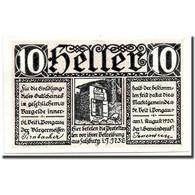 Billet, Autriche, St Viet Im Pongau, 10 Heller, Ecusson, 1920, 1920-08-01, SPL - Austria