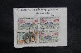 CAMEROUN - Affranchissement Plaisant Au Verso D'un Enveloppe De Ntui Pour La France En 1965 - L 35606 - Camerun (1960-...)