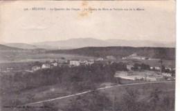 90 - BELFORT  -  Le Quartier Des Forges -  Le Champ De Mars Et Valdole Vus De La Miotte - Belfort - Ville