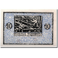 Billet, Autriche, Sonneberg, 10 Heller, Paysage, 1920, 1920-07-08, KM:1004, SPL - Austria