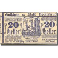 Billet, Autriche, Vöcklabruck, 20 Heller, Chevalier, 1919, SPL Mehl:FS 1116I - Austria