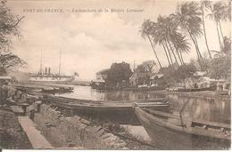 FORT-DE-FRANCE - Embouchure De La Rivière Levassor En 1914 - Fort De France