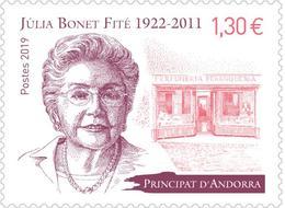 Andorre 2019 - Júlia Bonet Fité ** - Französisch Andorra