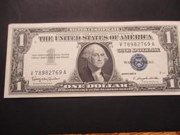 Rare 1 Dollard  Série 1957A, Lettre B,en état NEUF, - Stati Uniti