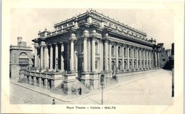MALTA --  Royal Theatre - Valletta - Malta