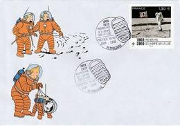 APOLLO 11 - TINTIN Premier Pas De L'homme Sur La Lune, France 2019 - Europe