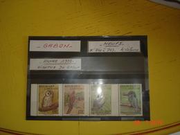 GABON   ANNEE 1992   N° 740 A 743  NEUFS  OISEAUX DU GABON - Colecciones (sin álbumes)
