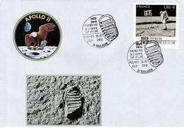 APOLLO 11 - Premier Pas De L'homme Sur La Lune, France 2019, 1er Jour Toulouse - Europe