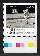 France 2019 - Premier Pas De L'Homme Sur La Lune ** - France