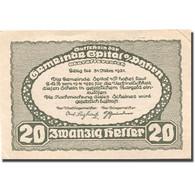 Billet, Autriche, Spital Am Pyhrn, 20 Heller, Montagne, 1921 SPL Mehl:FS 1007Ia - Austria