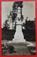 Cpa Photo 08 FAISSAULT Monument Aux Morts Boutault Photographe Charleville - France