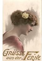 """""""Pretty Lady"""" Nice Vintage German Greetings Postcard - Mujeres"""