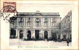 MALTA -- Valletta - Piazza - Malta