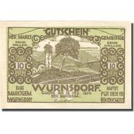 Billet, Autriche, Würnsdorf, 10 Heller, Jardin 1920-12-31, SPL Mehl:FS1257IIa - Austria