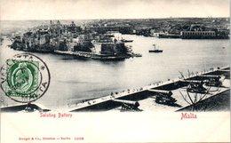 MALTA -- Saluting Battery - Malta