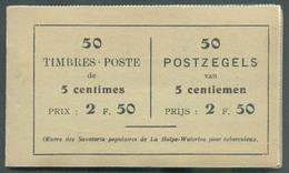 Carnet A13d(a) -  2 Fr.50 (N°110(50)) Avec Publicité LA PREVOYANCE - A La Grande Fabrique - Pardessus Imperméabilisé Au - Booklets 1907-1941