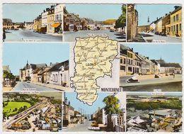 AISNE - MONCORNET - Multivues - Carte Départementale - Andere Gemeenten