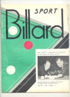"""Revue """" Billard Sport"""" N° 61 D'avril 1966 - Fédération Française (jm) - Sport"""