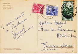 France, De Montreuil Sous Bois , Taxe Gerbes 5 +1 F  Sur Doc Italien  En 1951   TB - Poststempel (Briefe)