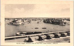 MALTA -- Fort St Angelo - Malta