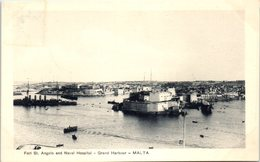 MALTA -- Fort St Angelo And Naval Hospital - Malta