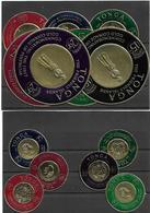 TON001 - 1963 - TONGA - SERIE DELLE MONETE D'ORO YVERT 128/133 - A1/6 - SERVICE P.A. - NUOVA!  MNH ** - Tonga (1970-...)